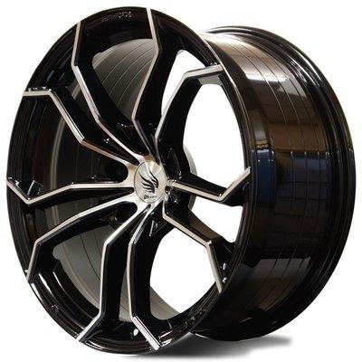 【宏程輪胎】19吋 20吋 21吋 22吋  羽式鋁圈  DEVIL 5/100 5/112 5/130 鍛造鋁圈