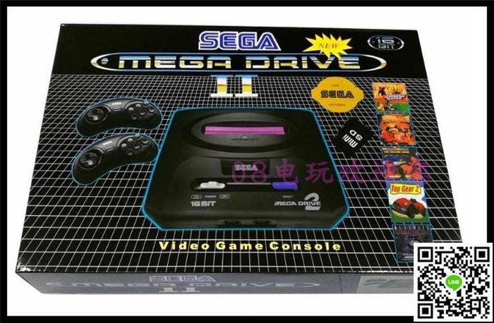 SEGA世嘉游戲機 MD黑卡游戲機 16位游戲機 可自己下載游戲