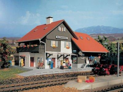 Vollmer 德國 房屋模型 HO 1/87 Sation Berwang 火車站 (9050)
