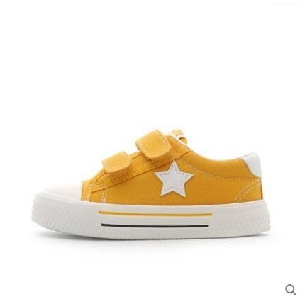 兒童帆布鞋春季男童布鞋韓版休閒小白鞋寶寶百搭
