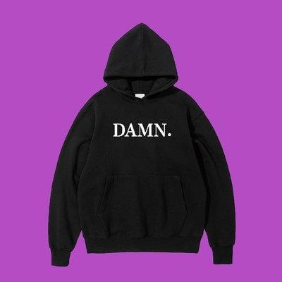Cover Taiwan 官方直營 Kendrick Lamar DAMN 帽Tee 帽T 黑色 灰色 酒紅色 (預購)