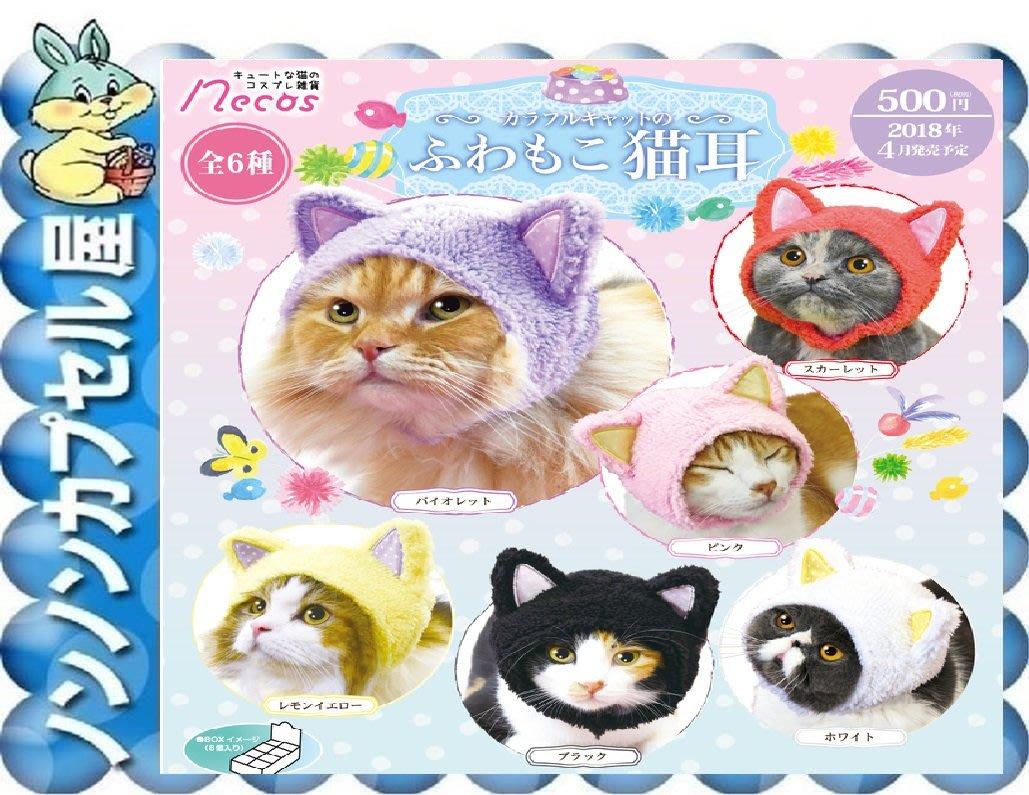 【儂儂轉蛋屋三館】『盒玩』貓咪頭套-變裝萌妹頭套~一中盒8款 完整盒販