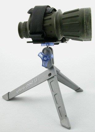 美國製~口袋型相機三腳架 (#UP-Digital)....可綁於登山杖,用於登頂環拍