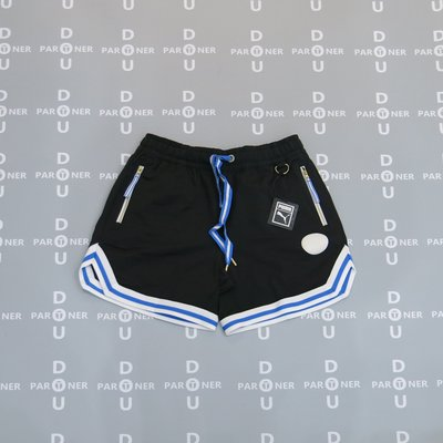 【Dou Partner】 Puma 籃球系列 STEP BACK 短褲 黑藍 男款 598742-03