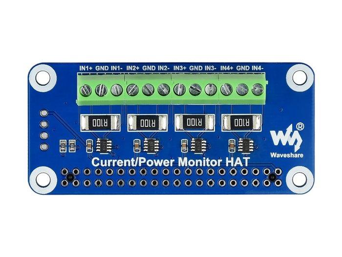 【莓亞科技】樹莓派電壓電流及功率監測模組(I2C, 4通道, 含稅現貨NT$588元)