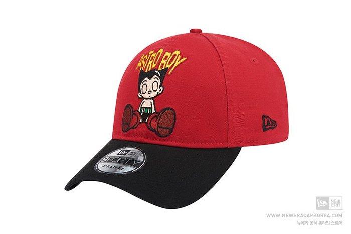 【Easy GO 韓國潮牌代購】NEW ERA x ATOM原子小金剛聯名款可調式棒球帽/鴨舌帽