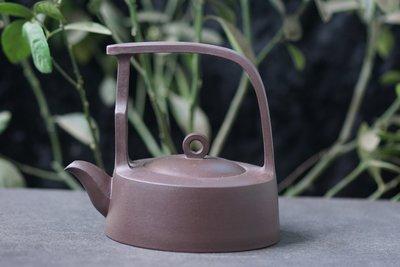 【敦敦壺】-【盧小偉製】提樑壺/鷓鴣壺~420cc紫砂茶壺(T1227)