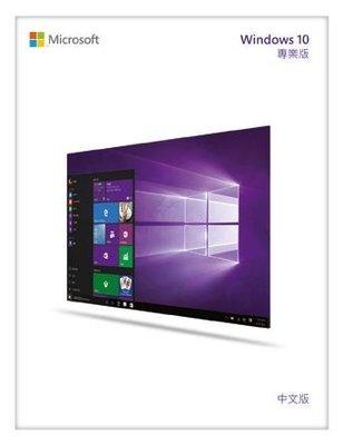 【全新含稅附發票】微軟 Microsoft Windows E-Win Pro 10 英文專業64位元隨機版