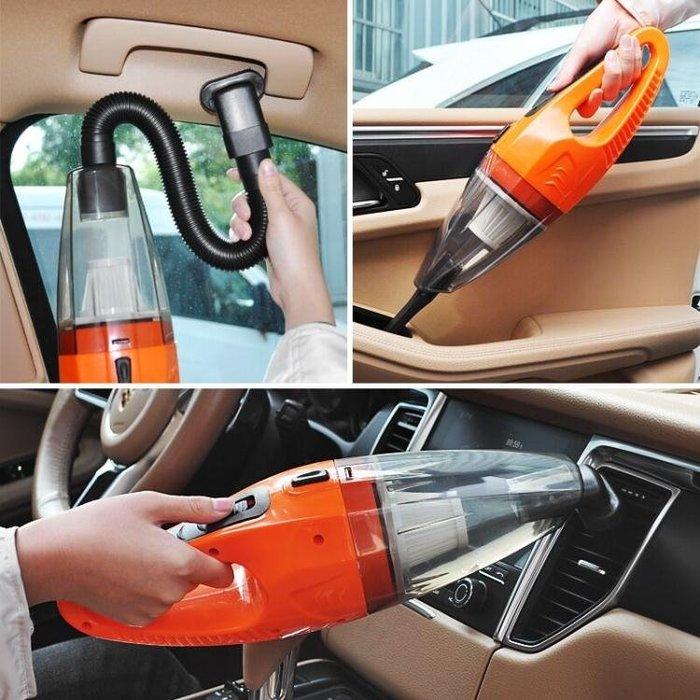 車載吸塵器充氣汽車打氣泵12V無線強力車用家用干濕兩用四合一