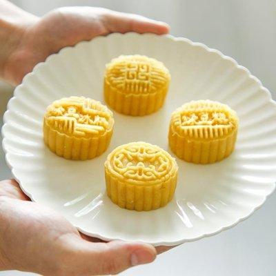 【栗家生活】綠豆糕模具中秋冰皮月餅模具手壓式家用南瓜餅磨具卡通糕點模套裝