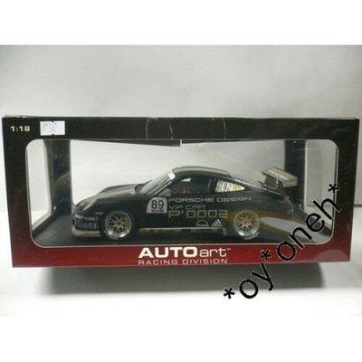 AUTOART 1/18 PORSCHE 911 (997) GT3 VIP CUP #89 80781 C802-4