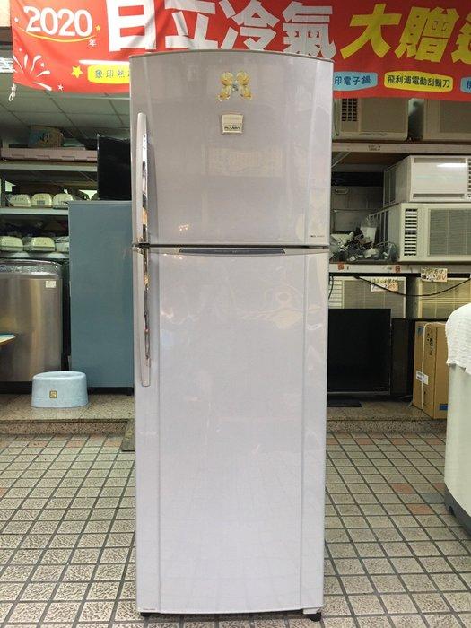 頂尖電器行「二手」東芝 320公升 雙門冰箱