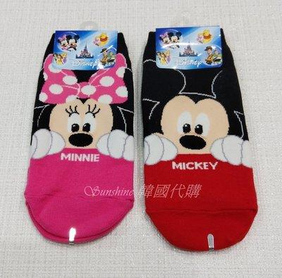 現貨 韓國製 迪士尼 米奇 米妮 童襪 短襪