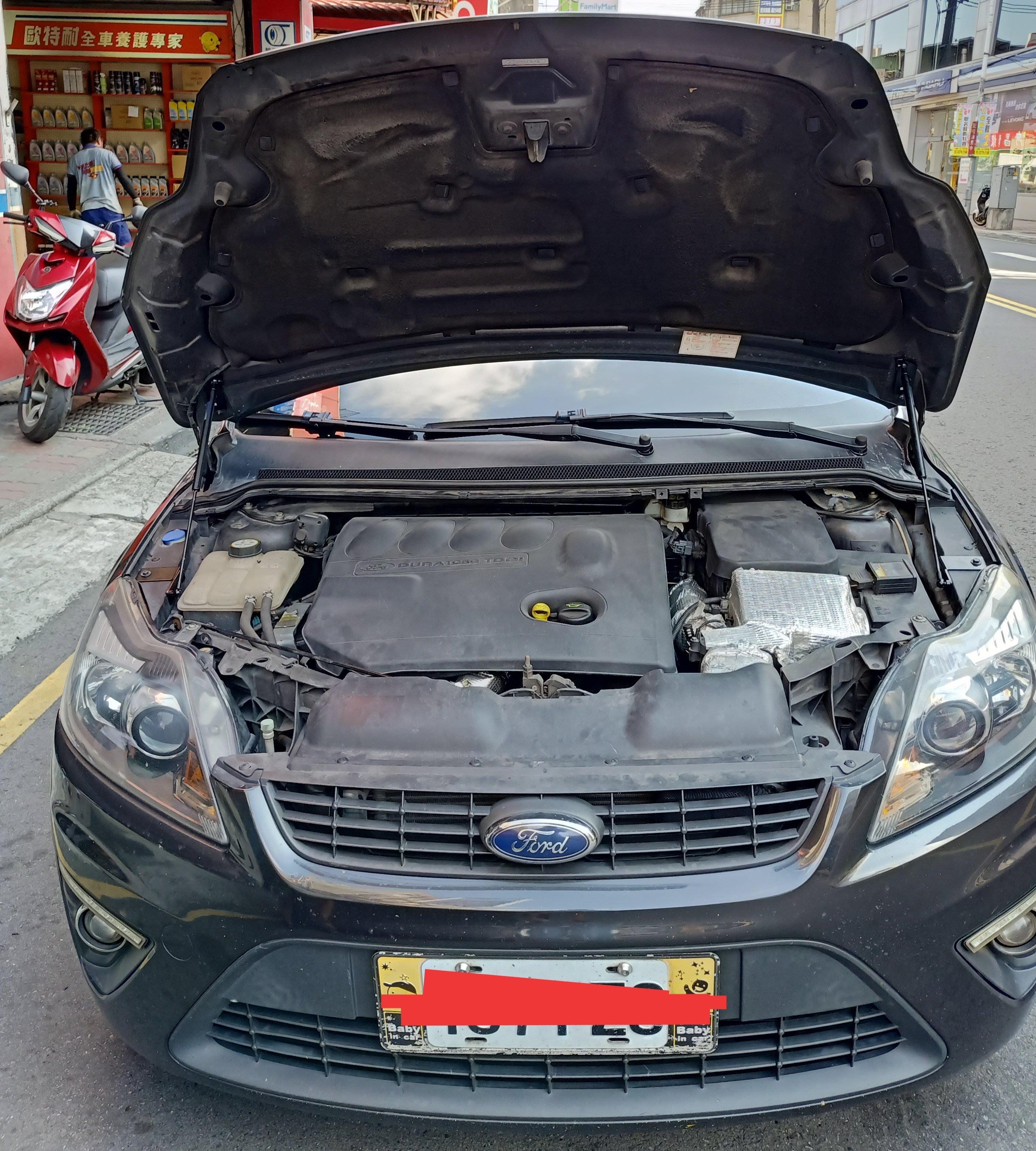 [晨達] FORD FOCUS 08-11 專用款引擎蓋支撐桿 油壓桿 頂桿
