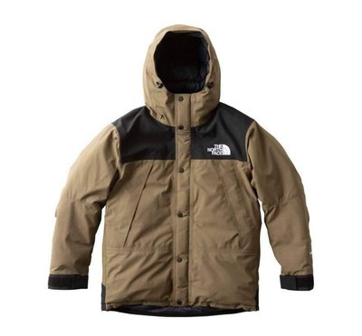 【日貨代購CITY】THE NORTH FACE Mountain Down Jacket ND91837 棕綠羽絨現貨