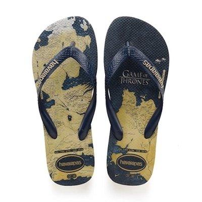 【巴西美鞋代購】2020款 Havaianas  GAME OF THRONES 哈瓦仕 男款 權利的遊戲 夾腳拖鞋