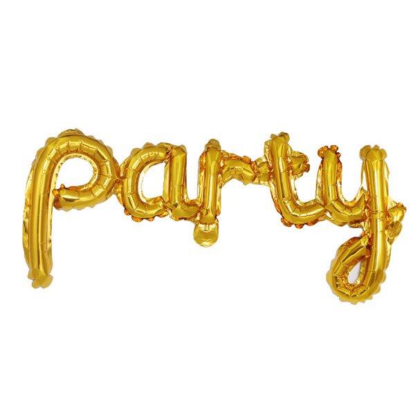 Party字母連體鋁膜氣球 佈置【JI2328】《Jami Honey》
