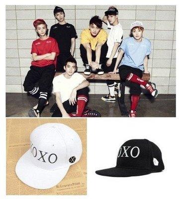 【現貨】 EXO XOXO 燦烈 白賢 DO LAY 嘻哈帽 棒球帽 造型帽 均碼