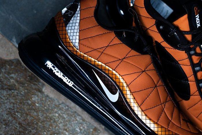 限時特價南◇2020 7月 NIKE W MX 720-818 橘色 休閒慢跑 全氣墊大氣墊 子彈 Bq5972-800