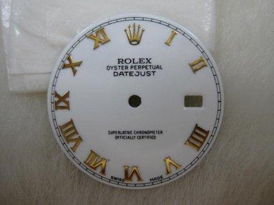 勞力士 ROLEX 16233 16013 116233  原裝羅馬塘瓷 面盤