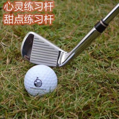 高爾夫球桿 日本原裝 LEEWAY高爾夫練習桿 7號球桿 七號鐵桿 車載防身 鋼桿身