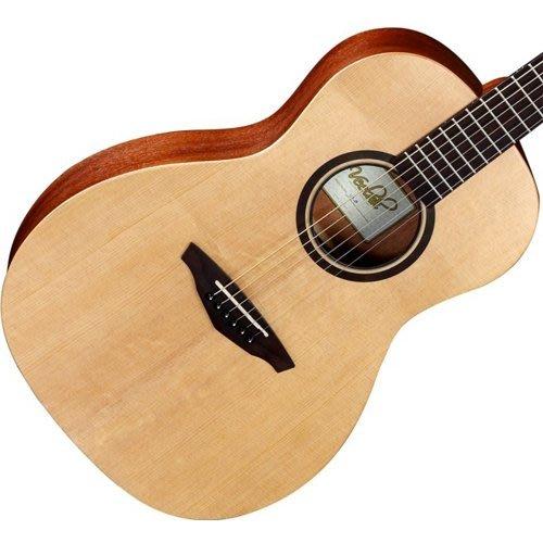 【旅行吉他專門店】全新 Veelah V1-P 民謠吉他 雲杉單板 木吉他 小桶身 古典琴頭