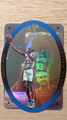 1995 SPX HOLOVIEW HEROES #H3 GRANT HILL