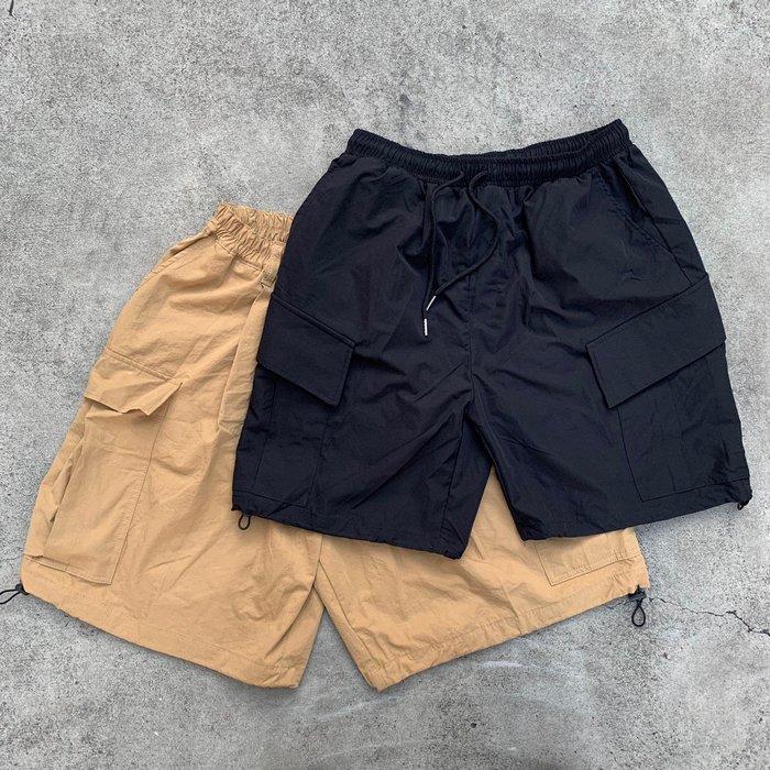 【inSAne】韓國購入 / 口袋 / 可縮口 / 寬鬆 / 單一尺寸 / 黑色 & 卡其
