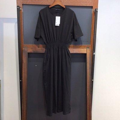 【私房款】女士連身裙長款收腰OL通勤
