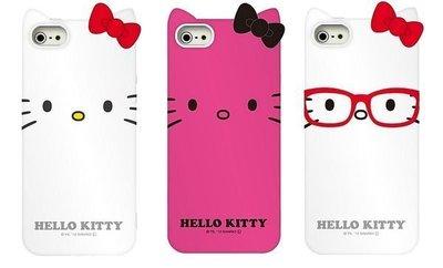 尼德斯Nydus~* 日本正版 Hello Kitty 凱蒂貓 保護殼 手機殼 軟殼 iphone5 5s 三麗鷗授權 共3款