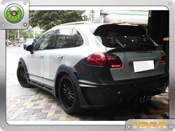 泰山美言社A1835 PORSCHE Cayenne 958 LUMMA全套寬車體含碳纖維單面套件