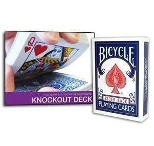 【意凡魔術小舖】Bicycle 原廠Knockout Deck 擊倒撲克牌魔術全新登場