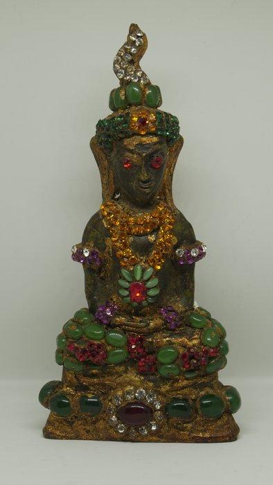 (希瓦利佛牌殿) 2401 拍嬰 玉佛寺 供奉型 阿贊多頌經加持 15.5x7.3x3cm