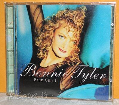 BONNIE TYLER-FREE SPIRIT,1995年,德國製造,WARNER唱片