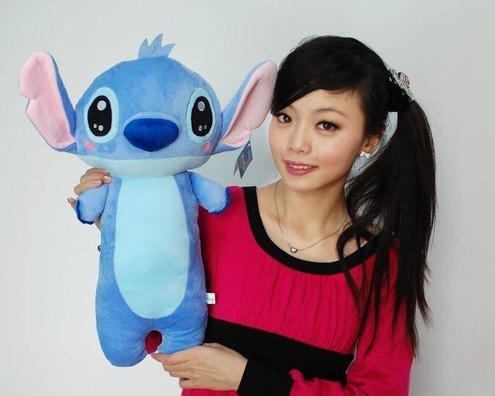 可愛史迪奇娃娃~高53公分~正版迪士尼星際寶貝~史迪奇玩偶~最受歡迎玩偶~生日禮物~