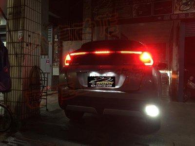 (小鳥的店)三菱 2018-2020 Eclipse LED 小魚眼 流氓倒車燈 爆亮款 倒車燈  OUTLANDER