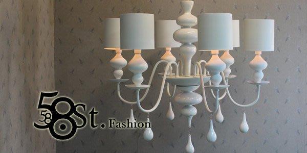 【58街】設計師款式「娃娃兵 低調奢華吊燈」弔燈、美術燈。複刻版。GH-229