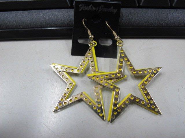 二手舖 NO.4540 時尚造型耳環 耳針 耳鉤 便宜賣 首飾飾品