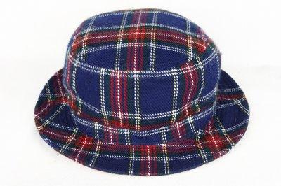 【古物箱~霹靂膠囊】日本品牌POLO 英式 毛料 小禮帽 淑女帽 紳士帽 遮陽帽( 二手 古著 老件)