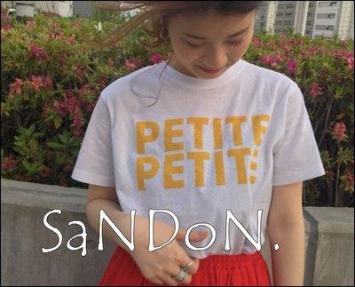 SaNDoN x『UNGRID』夏天怎麼能不穿彩色阿 PETITEロゴTee美式活潑色系短tee 180615
