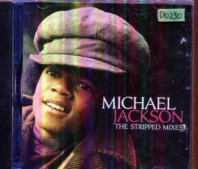 *還有唱片四館* MICHAEL JACKSON / THE STRIPPED MIXES 二手 D0231 (封面底破
