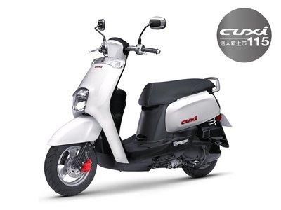 【車輪屋】YAMAHA 山葉原廠車殼 New Cuxi 115 全車內裝素材共8件 可單買 私訊優惠 台中-台北 可安裝