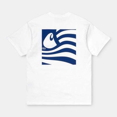 【Shopa】現貨 Carhartt WIP 2020 春夏 Waving State Flag 飄揚國旗 T恤 2色
