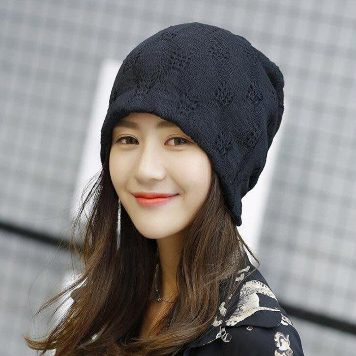 孕婦帽頭巾帽 韓版縷空頭巾帽月子帽春秋款蕾絲套頭帽薄款透氣包頭帽sys