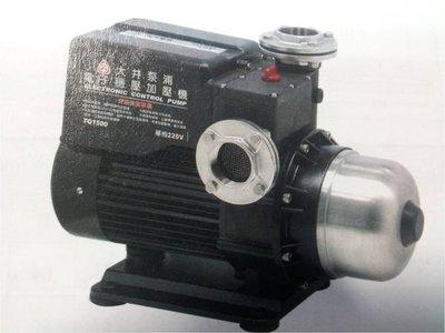 ((板橋五金))大井TQ1500B 2HP電子穩壓加壓馬達 單相220V(單電壓)