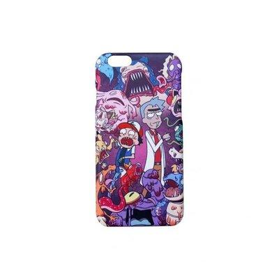 Rick & Morty x POKEMON 半包邊手機硬殼