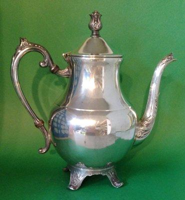 304 高級英格蘭鍍銀壺 Silver Plate Coffee Pot