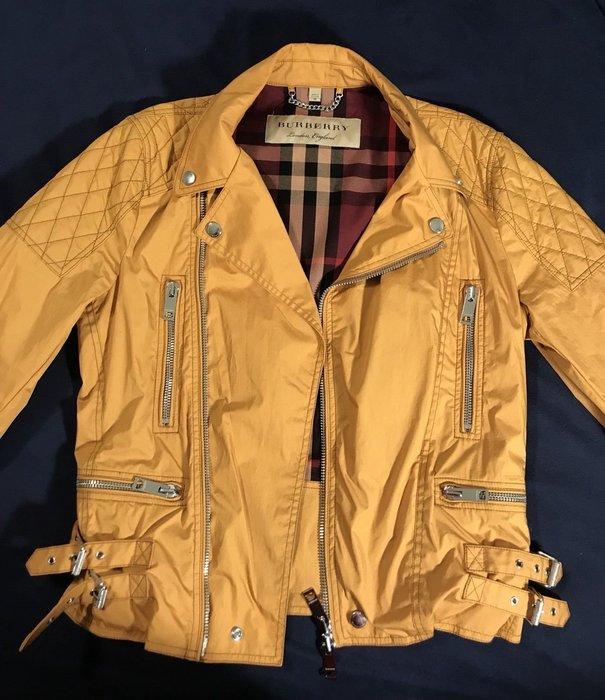 BURBERRY 全新正品 輕量騎士夾克 EU48(950歐元)