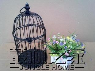 鳥籠婚慶櫥窗 擺件婚禮道具小鳥籠 尚美優品