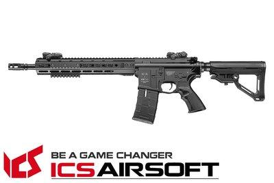 【翔準軍品AOG】ICS CXP-UK1 RIFLE 步槍長管版 (後出線)(黑) EBB ICS-265